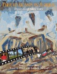 2007/2009 Directory - puerto ricans in florida