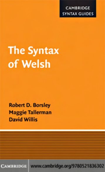 Welsh syntax.pdf - Cryptm.org