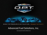 Advanced Fuel Solu?ons, Inc. - Advanced Fuel Solutions