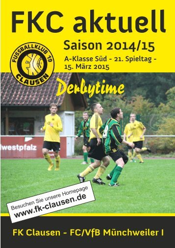 FKC Aktuell - 21. Spieltag - Saison 2014/2015