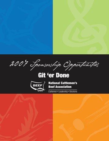2007 Nashville Prospectus.qxd - National Cattlemen's Beef ...