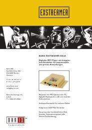 Technische Beschreibung als PDF-Datei - Wantronix
