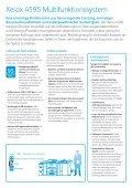 Xerox® 4595 Multifunktionssystem Ein echtes Allround-Talent - Page 2