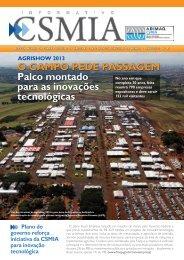 Informativo CSMIA edição 45/Abril/13 - ABIMAQ
