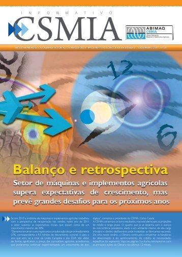 Informativo CSMIA edição 29 Dezembro/11 - ABIMAQ