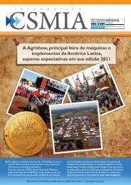 Informativo CSMIA edição 22 Maio/11 - ABIMAQ
