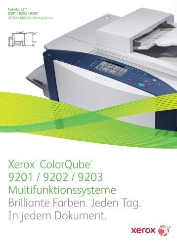 Nur Xerox kann das Versprechen erfüllen, jeden Tag und für jedes ...