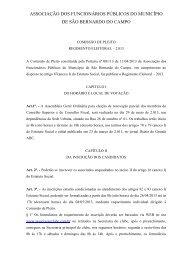 Regimento Eleitoral (.pdf) - Associação dos Funcionários Públicos ...