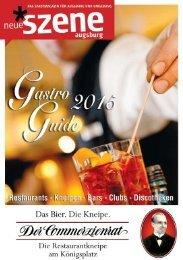 Gastro-Guide Augsburg 2015