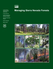 Managing Sierra Nevada Forests - Department of Plant Sciences