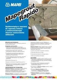 Mapegrout Rapido Mapegrout Rapido - Mapei