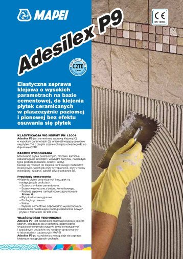 AdesilexP9 Adesilex P9 - Technologie-Budowlane.com