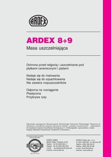 ARDEX 8+9 - Technologie-Budowlane.com