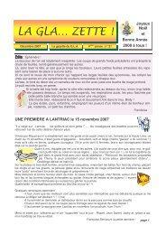 n°21 - décembre 2007