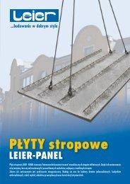 plyty stropowe leier-panel [20080331] - Technologie-Budowlane.com
