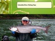 Columbia River Fishing Trips