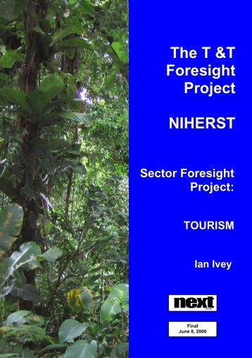 Tourism Sector Foresight Project - NIHERST