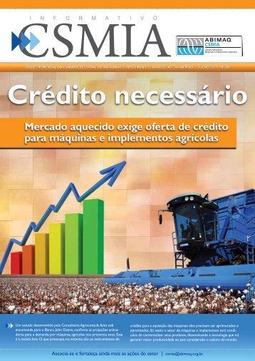 Informativo CSMIA edição 24 Julho/11 - ABIMAQ