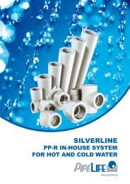 pp-r in-house system for hot and cold water