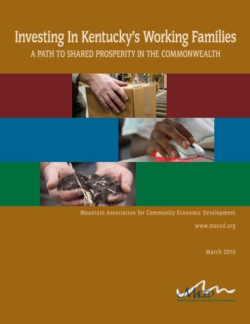 Investing In Kentucky's Working Families: A Path To