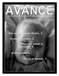 Noviembre, 2000 Dioses mentales, 3 Â¿Practica usted la amistad? 5 ...