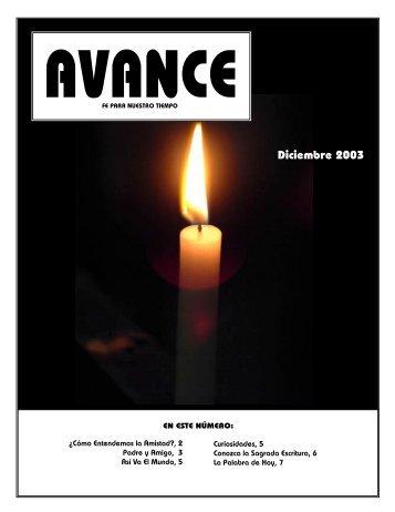 Diciembre 2003 - iglededios.org