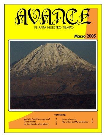 Marzo 2005 - iglededios.org