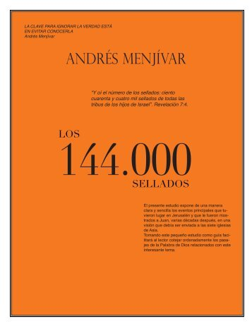 Los 144000 Sellados - iglededios.org