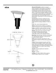 nico spec sheet 12_08.qxd - Phoenix Products