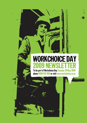WORKCHOICE DAY -  Workchoice Trust