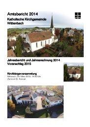 Amtsbericht 2014