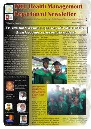 to view - Divine Word University