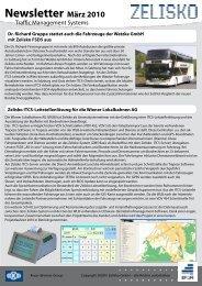 Newsletter März 2010 - Zelisko