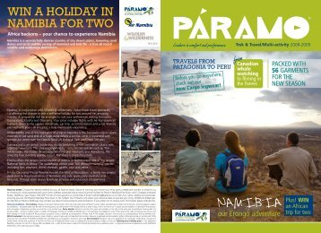 Trek & Travel - Paramo