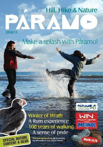 Make a splash with Páramo! - Paramo