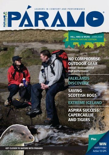 capercaillie and tigers - Paramo