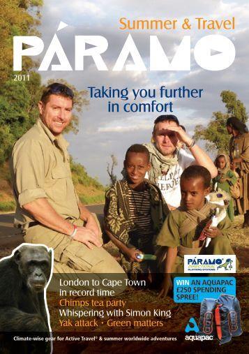 Summer & Travel - Paramo