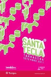 Programa d'actes Santa Tecla 2011 - Ajuntament de Tarragona