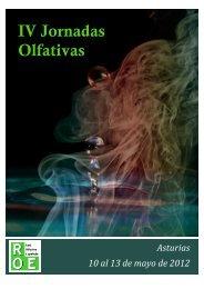 IV Jornadas Olfativas - Red Olfativa Española