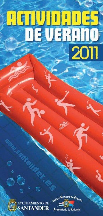 Programa completo de actividades deportivas para el verano en ...