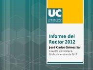 Informe del Rector 2012 - Universidad de Cantabria