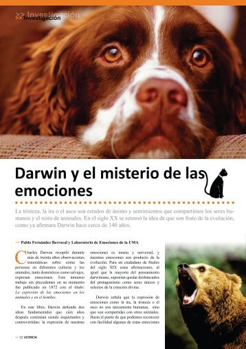 Darwin y el misterio de las emociones - Inteligencia Emocional