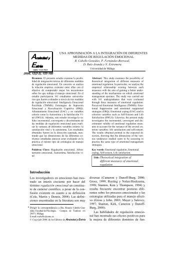Cabello, R., Fernández-Berrocal, P., Ruiz-Aranda, D., Extremera, N.