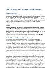 ADHD-Biomarker zur Diagnose und Behandlung