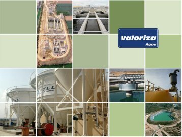 The Engineering Activity: Water Treatment Plants - Valoriza Agua