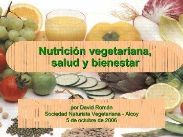 Nutrición vegetariana, salud y bienestar - Unión Vegetariana ...