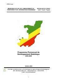 Programme Pluriannuel de Développement Statistique 2005-2009
