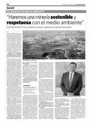 Spanish media during June 2011 - EMED Mining