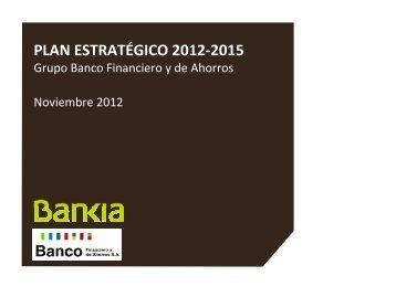 Plan estratégico de Bankia - El Diario Vasco
