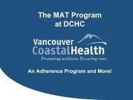 MAT Program - Pacific AIDS Network